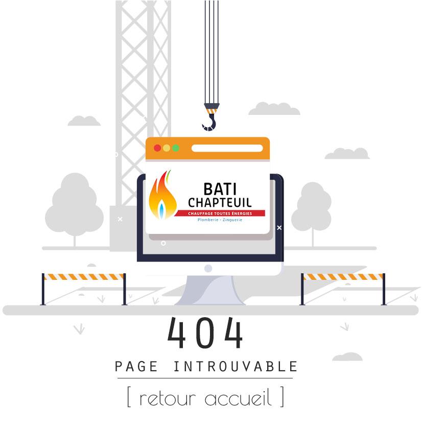 404 page introuvable