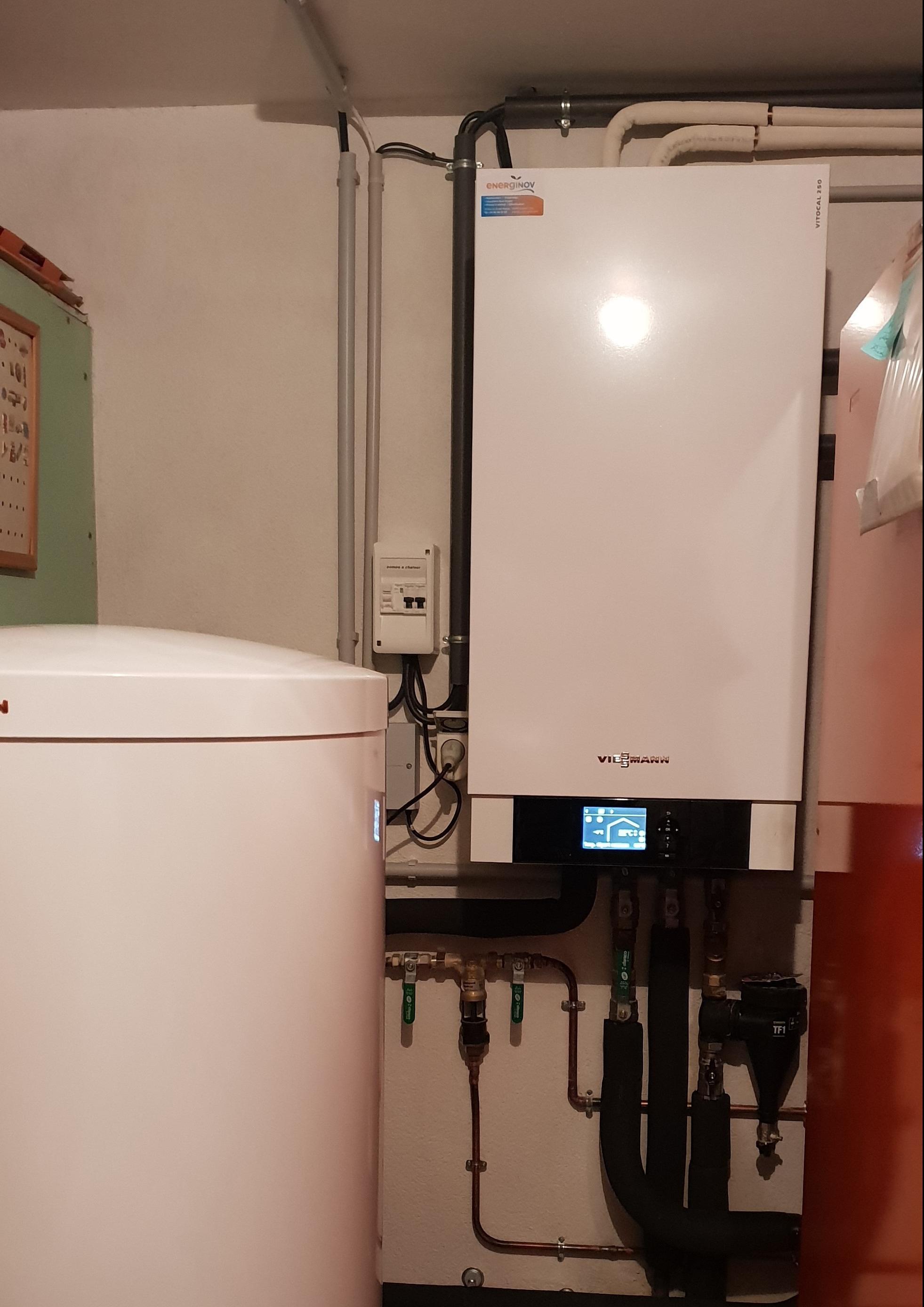 Module intérieure Pompe a chaleur Viessmann